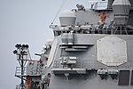 Bridge of USS Curtis Wilbur (DDG-54) left rear view at U.S. Fleet Activities Yokosuka April 30, 2018.jpg