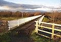 Bridge over M62, Shepherds Thorn Lane, Bradley, Huddersfield - geograph.org.uk - 322421.jpg