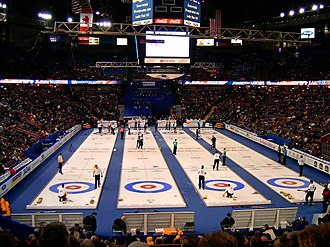 Curling - Curling games taking place during the 2005 Tim Hortons Brier