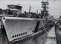 Brill (SS-330) during her refit.jpg