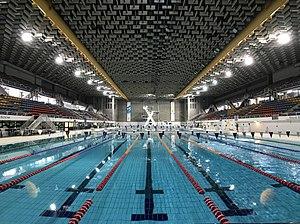 Sleeman Centre (Brisbane) - 50-metre indoor Olympic pool at Brisbane Aquatic Centre