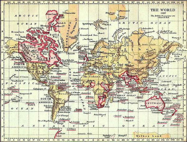 The British Empire in 1897 British Empire 1897.jpg