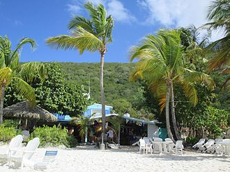 Jost Van Dyke - Soggy Dollar Bar