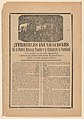 Broadside relating to a news story about floods in multiple cities, villagers wading through water MET DP868540.jpg