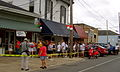 Brocato's Reopens 2006 Line Yellow tape.jpg