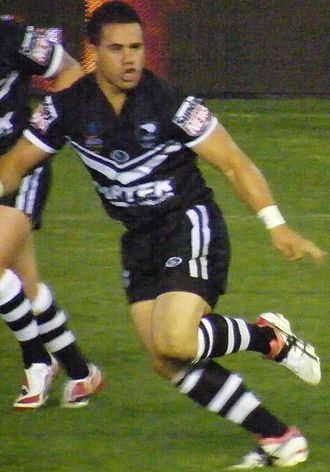 Bronson Harrison - Harrison playing for New Zealand in 2008