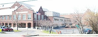 Bronxville Union Free School District - View from Midland Avenue.