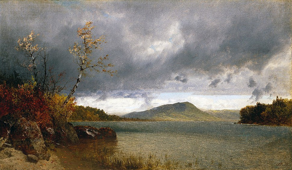 Brooklyn Museum - Lake George - John Frederick Kensett - overall