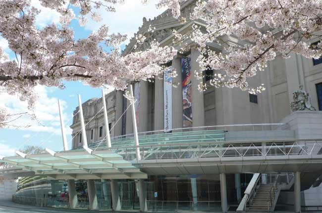 Brooklyn Museum Front Entrance