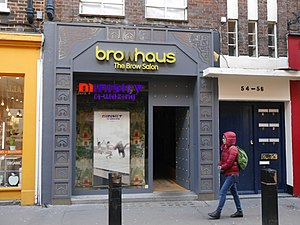 Browhaus - Browhaus, Neal Street, Covent Garden, London