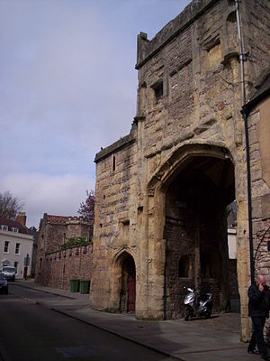 Brown's Gatehouse, Wells - Image: Brown's Gatehouse