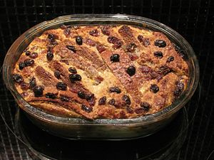 Bread and butter pudding - Brown Bread and Butter Pudding