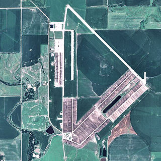 Bruning Army Air Field airport in Nebraska, United States of America