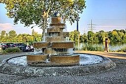 Brunnenanlage am Mainufer, Flörsheim 4695 6 7