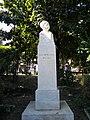 Bucuresti, Romania, Parcul Cismigiu (Aleea Rondului Roman - Statuia lui I. L. Caragiale); B-II-a-A-19655.JPG