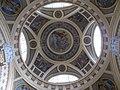 Budapesti Széchenyi fürdő, Czigler-szárny kupolacsarnokának mozaikja, Helios, a Nap-isten, négylovas fogatán vágtat.jpg