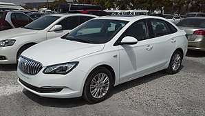 SAIC-GM - Image: Buick Excelle GT II China 2015 04 12