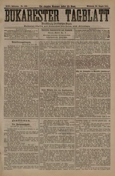 File:Bukarester Tagblatt 1911-08-30, nr. 193.pdf