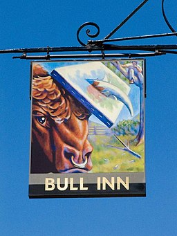 Bull Inn pub sign - geograph.org.uk - 1327578