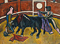 Bull fighting by Petr Konchalovsky (1910) 01.jpg