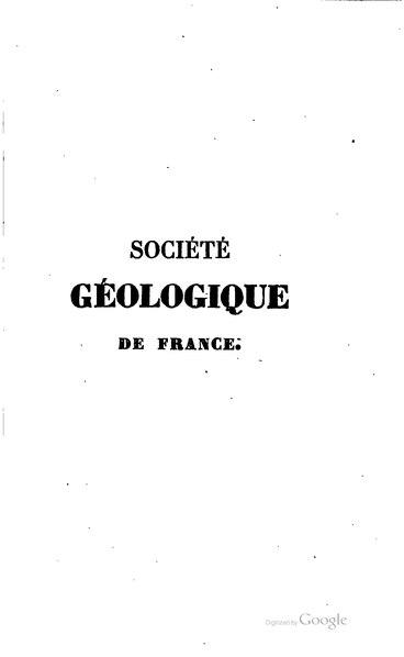 File:Bulletin de la société géologique de France - 1re série - 1 - 1830-1831.djvu
