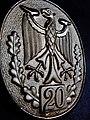 Bundesadler Bundeswehr Schützenschnur GOLD Zwanzigste Verleihung der Auszeichnung.jpg