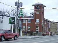 Canada Post Office in Burford's downtown