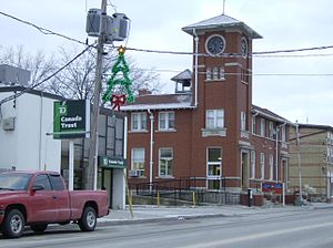 Burford, Ontario - Canada Post Office in Burford's downtown