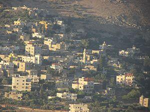 Burin, Nablus - View of Burin, 2014