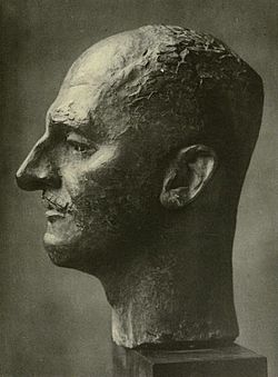 Ethel kibblewhite wikivisually t e hulme bust of t e hulme by jacob epstein fandeluxe Images