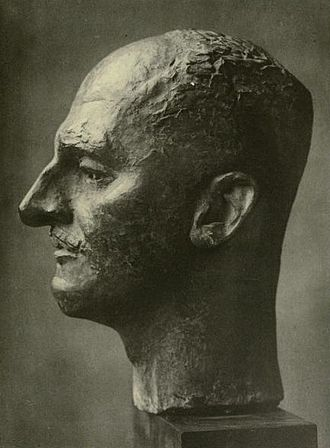 T. E. Hulme - Bust of T. E. Hulme by Jacob Epstein