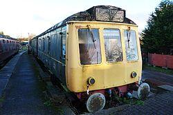 Butterley railway station, Derbyshire, England -train-19Jan2014 (8).jpg