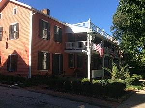 Granville, Ohio - Image: Buxton Inn (1812), Granville, Ohio