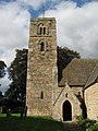 Bywell St. Andrew - tower (south face) - geograph.org.uk - 1573221.jpg