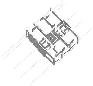 Park Hill, Sheffield - Basic three level, three bay module