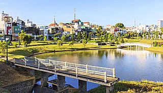 Bảo Lộc City in Lâm Đồng, Vietnam
