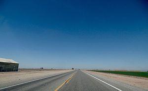 California State Route 115 - SR 115 northbound towards Calipatria