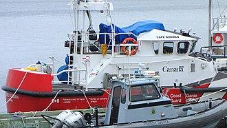 Canadian Coast Guard Ship - Image: CCGS Cape Norman, SAR vessel