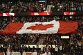 CIS Basketball Final 2014Flag of Canada.JPG
