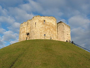 Clifford's Tower, part of York Castle