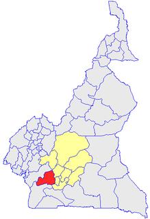 Nyong-et-Kéllé Department in Centre Province, Cameroon