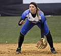 CNU Christopher Newport University Captains Virginia Va. DePauw University Tigers Indiana women's softball (16744273319).jpg