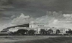 Tanjung Priok railway station - Tanjung Priok Station in 1950s