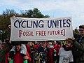 COP23 Fahrraddemo - Banner of BUNDJugend at Wasserwerkswäldchen.jpg