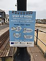 COVID sign, St Ives Harbour, March 2021.jpg