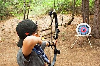 Camp Quest - Image: CQW Archery