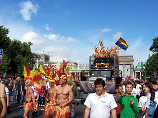 Annual LGBT event in Berlin, Germany