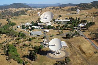 Canberra Deep Space Communication Complex - The Canberra Deep Space Communication Complex in 2010