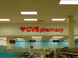CVS Pharmacy - A normal CVS location inside Target located in the Warwick Mall.