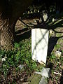 C Robinson Royal Army Service Corps grave Christ Church Burial Ground, Barnet.JPG